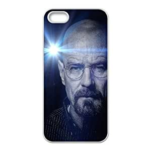 iPhone 5 5s Cell Phone Case White he15 breaking bad face flare film art dark GY9016019