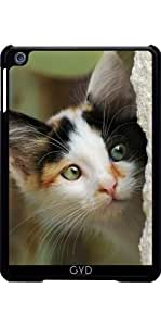 Funda para Apple Ipad Mini - Lindo Gatito Con Ojos Curiosos by Katho Menden