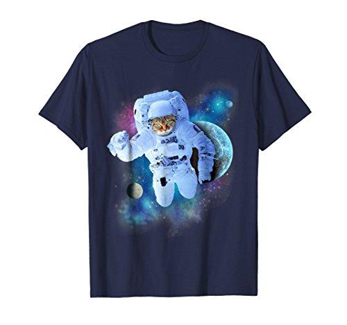 Female Space Costumes Ideas - Astronaut Space Cat Shirt - Cat