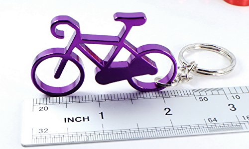Bicycle Keychain Ring Key Chain Bottle Openers Beer Bottle Opener Claw Bar Small Beverage (1 piece) (4)