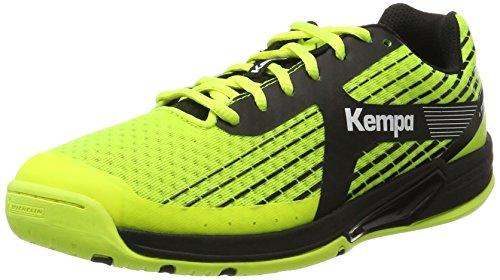 Fluor 000 De Kempa antracita Wing Jaune amarillo Chaussures Caution Handball Homme vq8O1Z