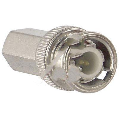 Quest Technology International, Inc. CBN-1111 , Connector, Crimp; 50 Ohms; Straight; RG-59/62; Twist On BNC; Male