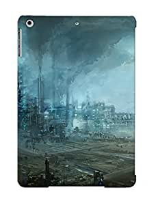 New Arrival Futuristic Industrial Area YFKyeSn1157QrfMM Case Cover/ Air Ipad Case by supermalls