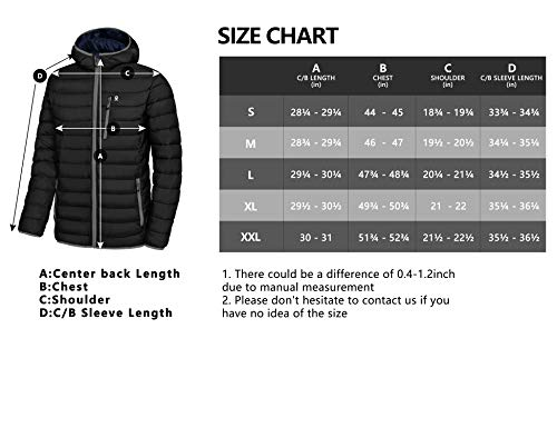 Tanming Womens Solid Packable Ultra Lightweight Down Puffy Jacket Coats