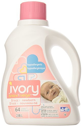 Ivory Snow High Efficiency Hypoallergenic Liquid Detergent, 64 Loads, 100-ounce by Ivory Snow