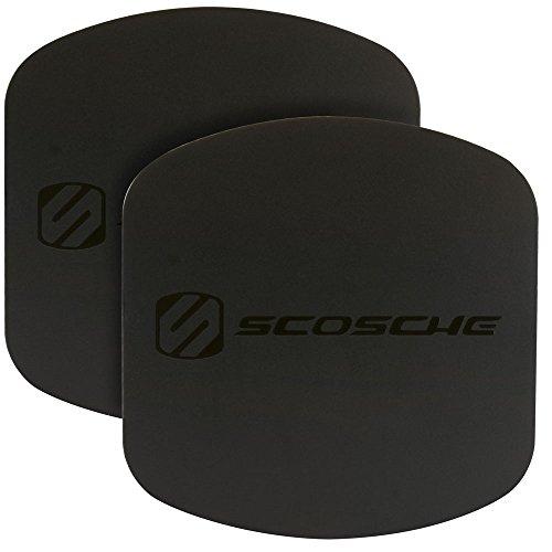 SCOSCHE MAGRKXLI MagicPlate XL Replacement Plates for All Scosche MagicMount XL Mounts - Black