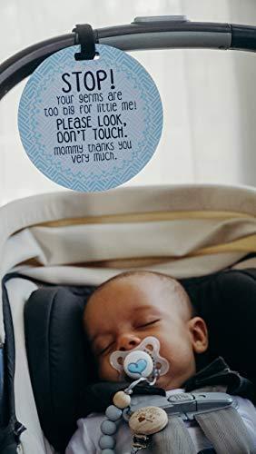 Amazon.com: Señal para asiento de coche o cochecito de bebé ...