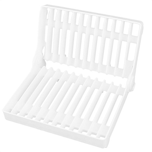 Dish Cup Drying Floding Rack Drainer Dryer Tray Cutlery Hold