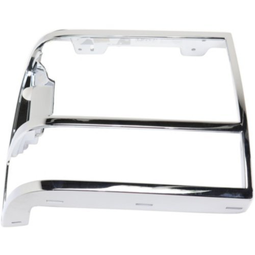Headlight Door Compatible with FORD RANGER 1989-1992/EXPLORER 1991-1994 RH Chrome