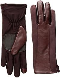 Echo Women's Leather Stripe Superfit Touch Technology Glove