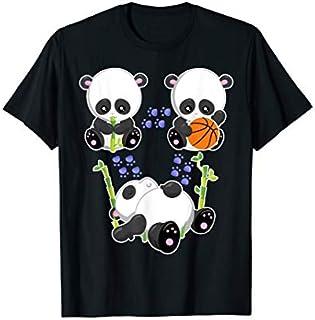 Best Gift Funny Panda Bamboo Eat Sleep Basketball Repeat - Basketball  Need Funny TShirt