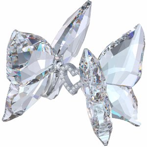 4bdfbbc6c4 Image Unavailable. Image not available for. Colour: Swarovski Crystal Love  Butterflies ...