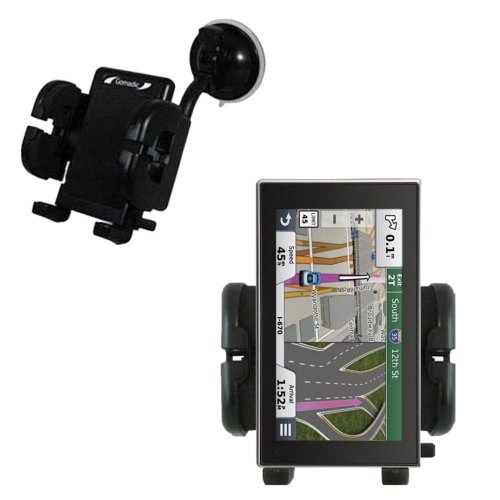 Gomadic Windshield Mount compatible with Garmin nuvi 3597...