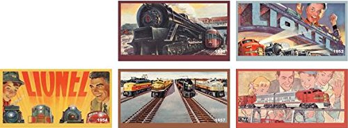 LIONEL 6-81736 Classic Lionel Catalogs Billboard Pack O