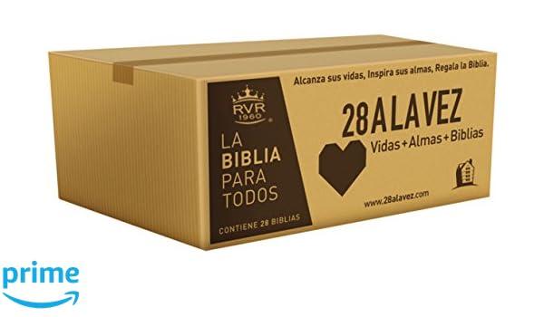 RVR60-Santa Biblia - Edición económica / Paquete de 28 (Spanish Edition): RVR 1960- Reina Valera 1960: 9780718096229: Amazon.com: Books