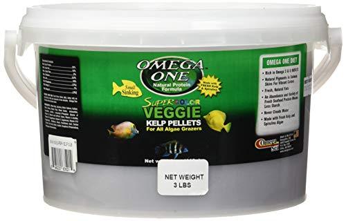 Omega One Sinking Super Color Kelp Pellets 3 Lb.