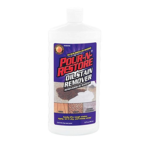 06 Oil Grease - Pour-n-restore Pnr32oz-06 Oil Stain Remover, 36 Oz (Pack Of 6)