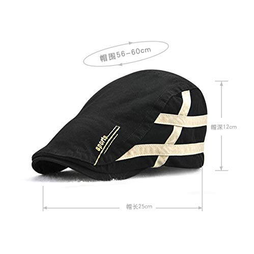 Gorra Sombrero Casual Gorra protección algodón GLLH Simple B para de qin Sol de Sombreros hat Solar Bere Exteriores para B Hombres para EUUAq68cn