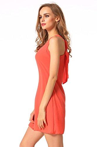 ETC Damen KART Kleid ETC Orange KART T7qOdHvwq