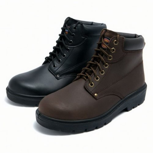 Dickies Antrim Super Safety Boot EN 20345 S1-P Sizes 6-12 (FA23333) BLACK SIZE 8