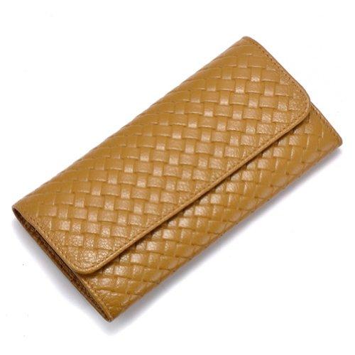 GSP - Cartera de mano de cuero para mujer marrón - marrón