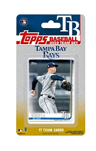 Tampa Rays Set Bay - Tampa Bay Rays 2019 Topps Factory Sealed Special Edition 17 Card Team Set with Kevin Kiermaier and Blake Snell Plus