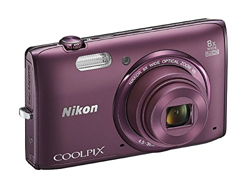 Nikon COOLPIX S5300 16 MP Wi-Fi CMOS Digital Camera with 8x
