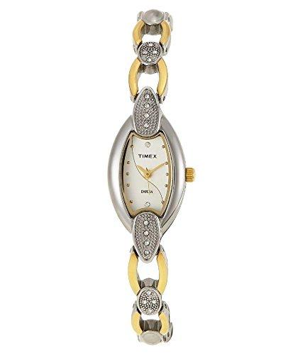 Timex Golden Metallic Analog Women's Watch-TW0TL492H