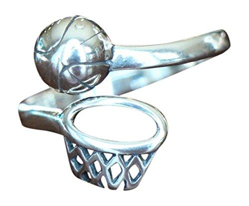 Basketball Adjustable Ring- Basketball Players Ring - Christmas Gift