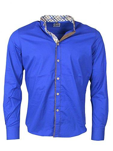 Double Look Hemd - blau