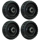 "Stryker Stretcher 6"" x 2"" Replacement Wheels"