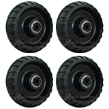 "Stryker Stretcher 6"" x 2"" Replacement Wheels - Set"