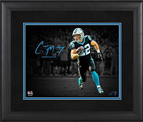 Christian McCaffrey Carolina Panthers Framed 11