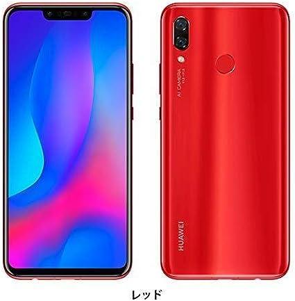 Amazon.co.jp: huawei nova3 par-lx9 red: 家電・カメラ