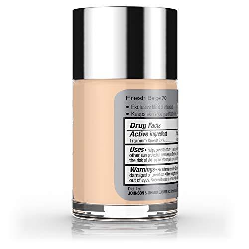 Neutrogena Healthy Skin Liquid Makeup Foundation, Broad Spectrum Spf 20, 70  Fresh Beige, 1 Fl Oz