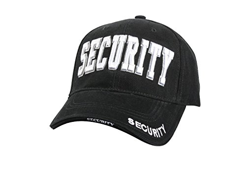 Police Low Profile Cap (Deluxe, Low Profile Cap, Security - Black)