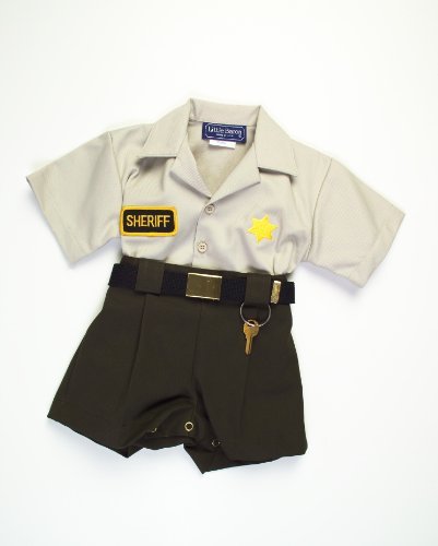 Infant & Toddler Sheriff's Outfit (18 - Halloween Sheriff Costume