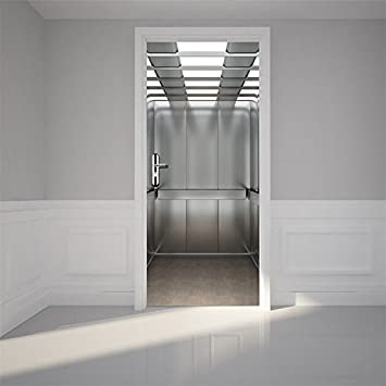18*100cm 立体的で光煌かす壁紙 高品質 紅葉 カッコイイ欧米スタイル おしゃれ 特別 防水または防潮 ドア用のステッカー Yanqiao