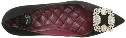 53 Para 5 Cerrada Zapatos 008 Con Primafila Negro Tacón Punta De Mujer dRzwx5