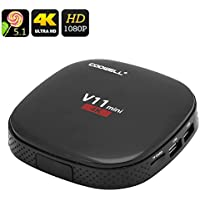 Electronics And Gadgets Store 4K Android TV Box COOWELL V11