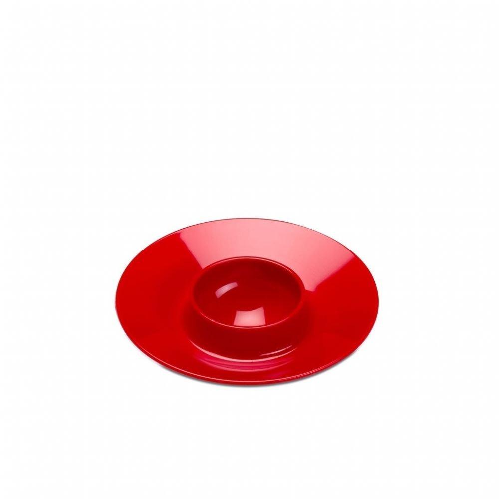 6 S Mepal 104620075900 Eierbecher // Eierhalter Ø 10cm luna rot SAN-Kunststoff