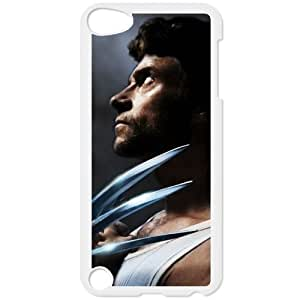 Wolverine Ipod Touch 5 White Clear Phone Case