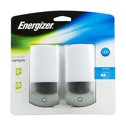 Energizer 37102 Automatic Night Lights, 2 Pack