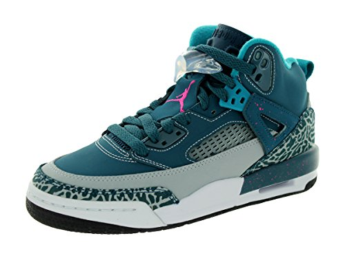 Unisex Wolf Grey Black Kids Space Basketball 407 Fusion Blue NIKE Shoes Jordan Pink Spizike P7T7vE