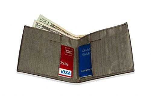 Allett Slim Leather Sport Wallet - Brown