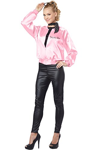 California Costumes Women's The Pink Satin Ladies Adult, Pink, X-Large (Ladies Costume)