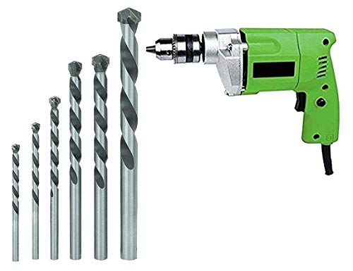 MLD ELECTRIC DRILL MACHINE 10MM + 5PCS BIT HEAVY DUTY FOR HOME USE AND DRILLING WALL – (Colours As Per Availability) Price & Reviews