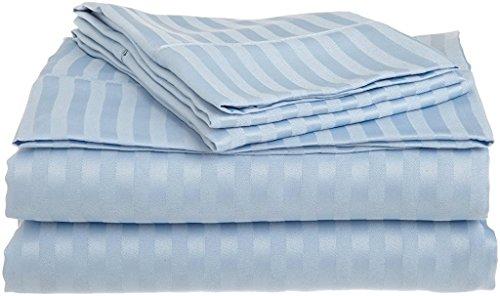 Ras Decor Linen 100% Cotton-600 Thread Count Sateen Weave-Natural, Soft, 18