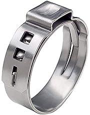 Andifany 50 stuks 3/4 inch PEX Cinch klemmen,staploze oorklemmen krimp ringen knijp klemmen voor PEX buis pijp montage verbindingen