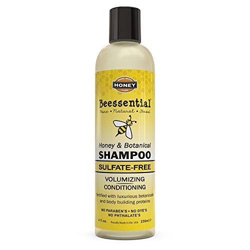 Beessential Botanical Sulfate Free Shampoo, Honey, 8 Ounce